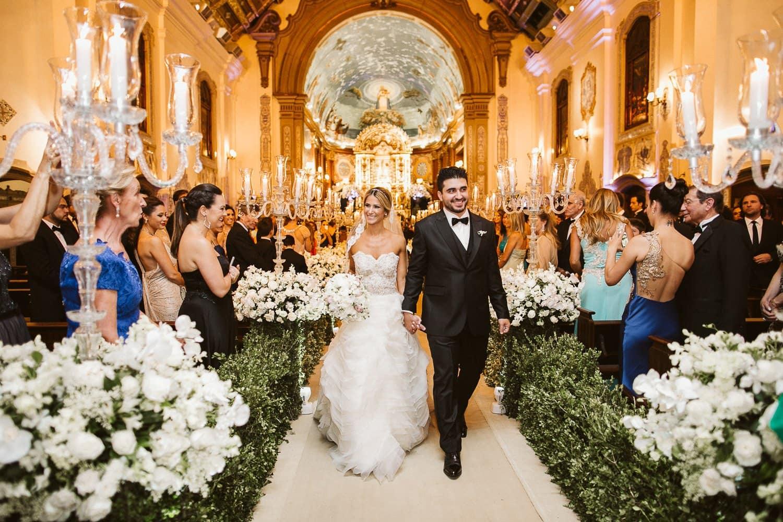 Casamento Igreja Nossa Senhora do Brasil - Carol e Zé